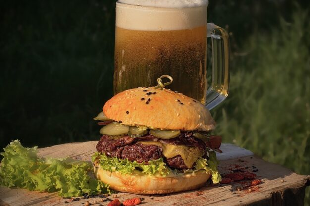 Burger Black Angus - Carpathian Gourmet